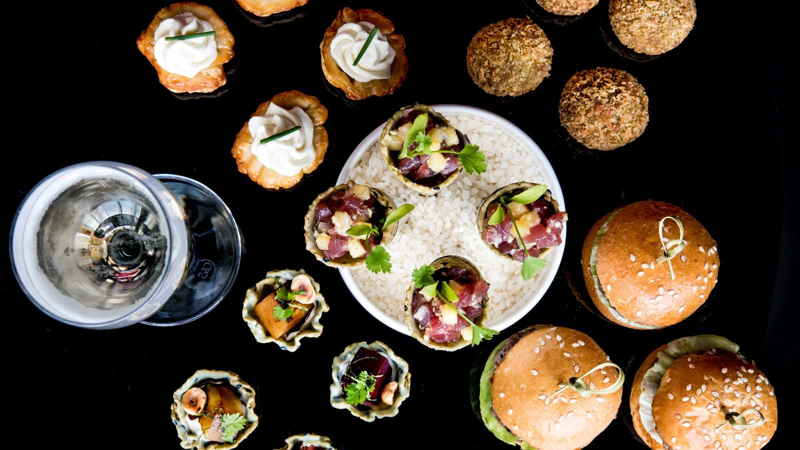 W London | Events | Canapes