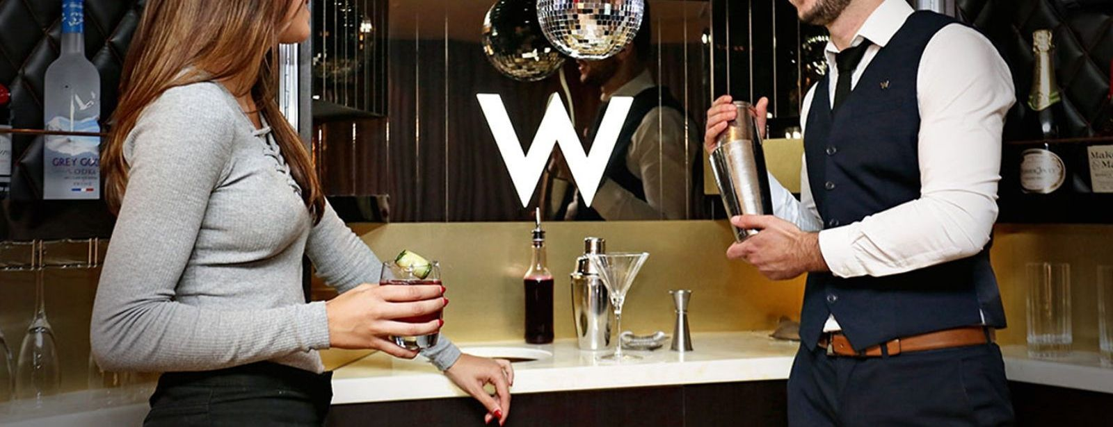 W London Leicester Square Mega Bar Experience